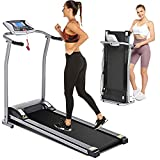 Electric Folding Treadmill for Home...
