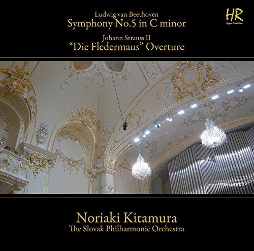 ベートーヴェン/交響曲第5番「運命」・シュトラウスII/「こうもり」序曲 [SACD Hybrid + DVD-ROM]