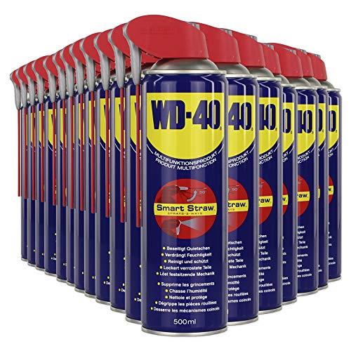 24x WD-40 ROSTLÖSER VIELZWECK Spray MULTIFUNKTIONSÖL SMART Straw 500ML