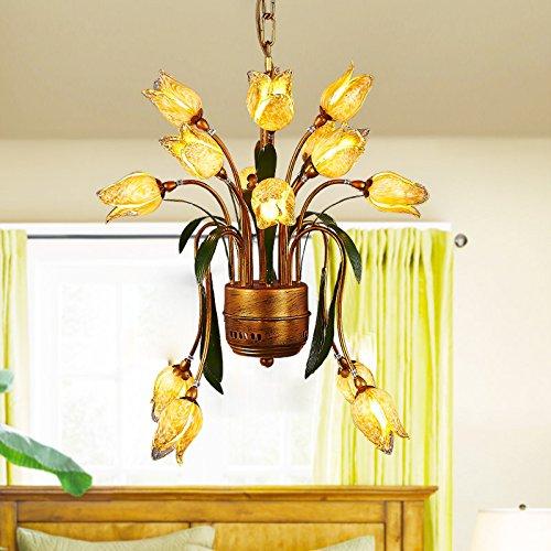 Quietness @ Ciondolo illuminazione LED moderno lampadario industrie creative Loft lampadario per sala da pranzo Camera da letto Soggiorno magazzino 8612ch25