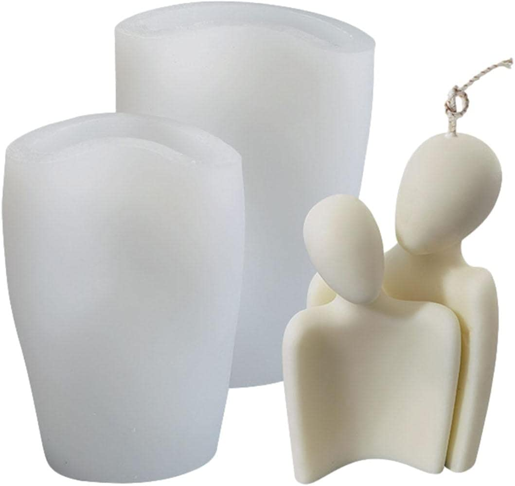Aiend Silicone Mold 3D Body Shape Orname Suit Hug Our shop OFFers the best service Couples Rapid rise Family