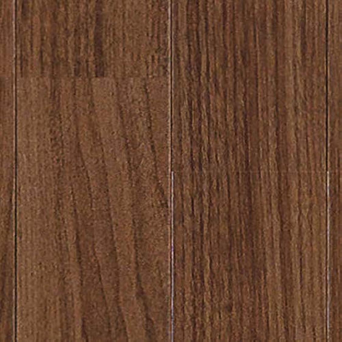 出発魔女爆弾クッションフロア ウォールナット 切売り sincf-wallnat-182 (Sin) 182cm幅×5m E2204 (ダークブラウン) 木目 ブラウン 茶色 日本製