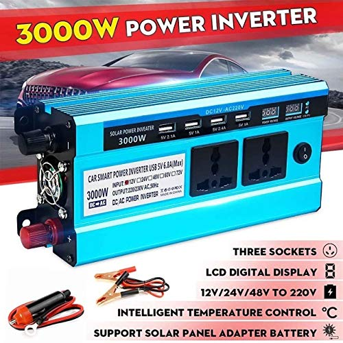 Why Should You Buy Solar Inverter DC 12V 24V 48V to AC 220V 3000W 4000W 5000W Inverter Voltage Trans...