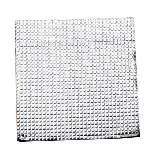 perfk 400x400x10mm Hotbed Thermische Isolierung Baumwolle BeschichtungHeated Bed Wärmeisolierung Zubehör für 3D-Drucker