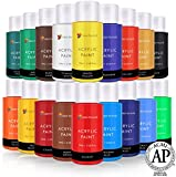 Color Technik Acrylic Paint Set, Artist Quality, Large Set -...