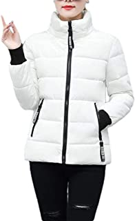MogogN Women's Warm Thick Zip-Up Hood Casual Weekend Winter Outdoor Coat
