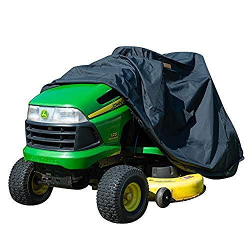 """XYZCTEM Riding Lawn Mower Cover,Fits up to 54"""" Decks, Extreme Waterproof Protection and Reflective Strip"""