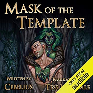 Mask of the Template: A Monster Girl Harem Fantasy  audiobook cover art