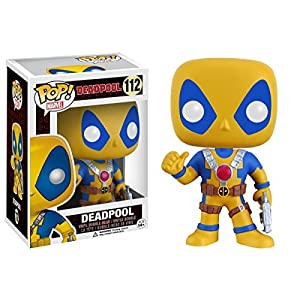 Funko Pop Deadpool Amarillo / Azul (Deadpool 112) Funko Pop Deadpool