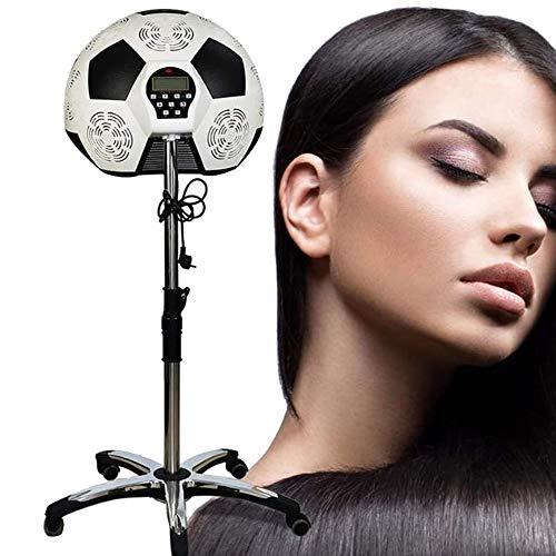 D&XQX Salon Sèche-Cheveux, Processeur Couleur accélérateur de Chauffage à Infrarouge Base de roulement avec Roues Équipement Coiffure pour Salon de Coiffure Beauty Spa