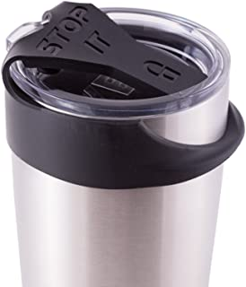 STOP IT - Make Your Original YETI Lid Leak Proof (see image for fit) - 20oz, Black