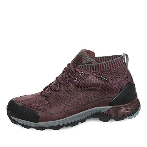 VAUDE Women's TRK Skarvan STX, Chaussures de Randonnée Basses Femme, Rouge (Raisin), 37.5 EU