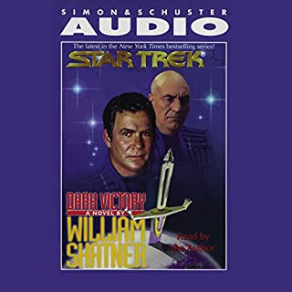 Star Trek: Dark Victory (Adapted)                   By:                                                                                                                                 William Shatner                               Narrated by:                                                                                                                                 William Shatner                      Length: 3 hrs and 1 min     156 ratings     Overall 4.2