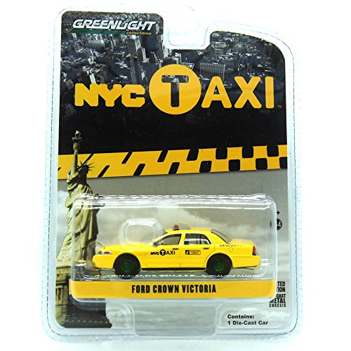Ford Crown Victoria New York City Taxi (NYC) Greenlight Exclusive 1/64 by Greenlight 29773