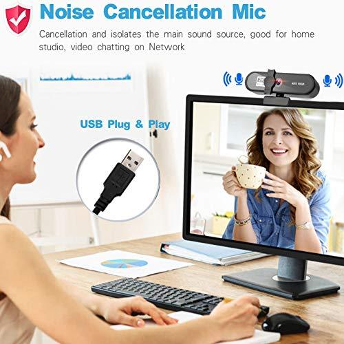Aode 2k Webcam - Mikrofon mit Rauschunterdrückung