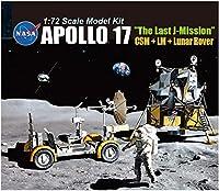 ドラゴン 1/72 アポロ17号 ラストJミッション 司令船+着陸船+月面探査車(ルナローバー) プラモデル DR11015