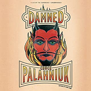 Damned audiobook cover art