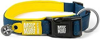 Max & Molly Matrix Yellow Smart Id Collar  Comfortable   Odor Free Neoprene  Reflective Stitching   Smart Id Tag   Lost Pe...