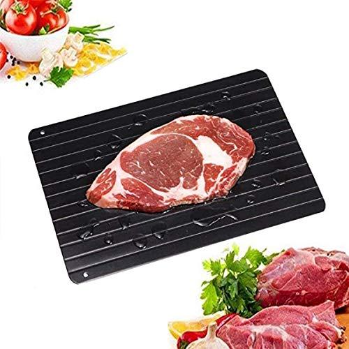 YUEXING Rapid Thaw Plate Board für gefrorenes Fleisch für natürliches Auftauen Gefrorenes Fleisch umweltfreundlich Kein Strom Keine Chemikalien Auftaumatte Aufgetautes Fleisch