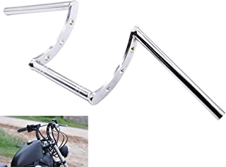 AnXin Motorcycle Handlebar Z Bars 22mm 7/8