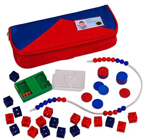 Betzold 86466 - Mathematik-Set Grundschule - Kinder Rechenhilfe Rechnen lernen