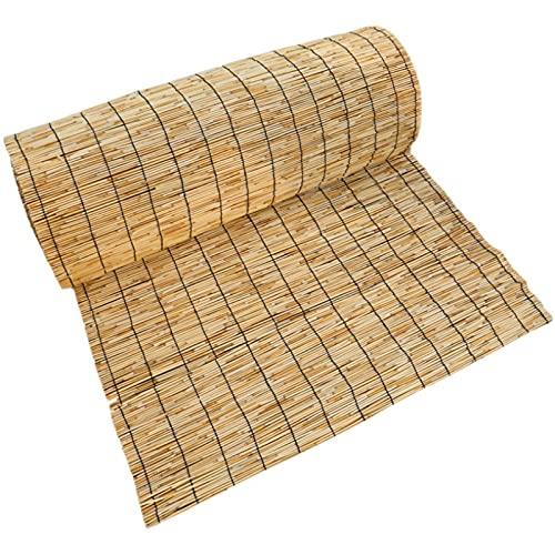 RGRE 60X100cm Persianas Enrollables De Bambú, Cortinas De Caña Natural, Estores De Bambú para...