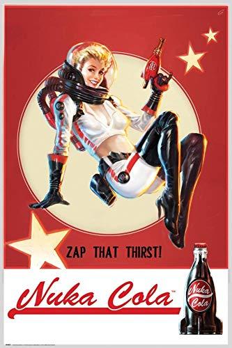 GB Eye 61x 91,5cm Fallout 4, Nuka Cola Maxi-Poster