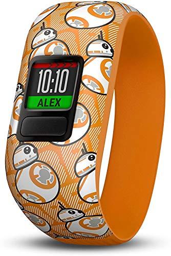 Garmin vívofit jr. 2, wasserdichte Action Watch für Kinder – Star Wars BB-8 mit Abenteuer-App, orange (Zertifiziert & Generalüberholt)