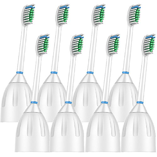 VeniCare Replacement Toothbrush Heads For Philips Sonicare E series Essence, Xtreme, Elite and Advance 8-pack
