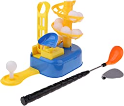 Baoblaze Practise Putting Kids Childrens Learning Toy Mini Golf Set