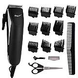 Schnurgebundener Haarschneider in R-Form Handliches Haarschnitt-Elektro-Pflegeset mit 10...