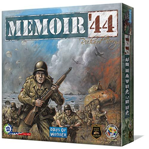 Days of Wonder- Memoir 44 - Español, Multicolor, Talla única (EDGE DOW7381) , color/modelo surtido