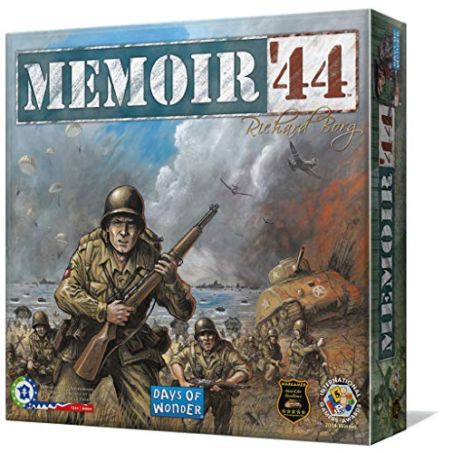 Days of Wonder- Memoir 44 - Español, Multicolor, Talla úni
