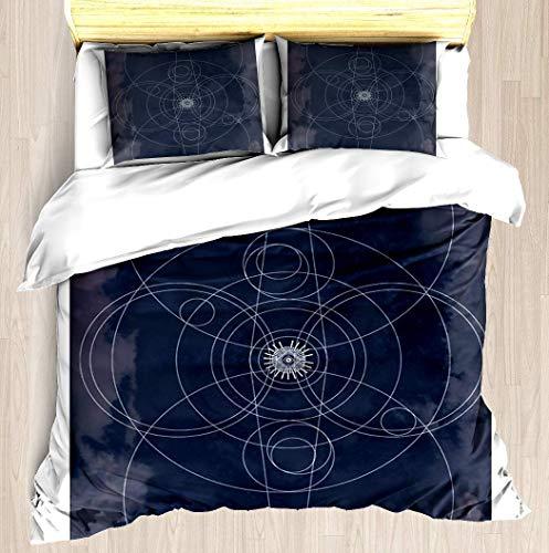 Destiny 2 Inspired - Imagen completa - Juego de funda nórdica Funda de edredón suave Juego de cama con funda de almohada Diseño impreso exclusivo Fundas nórdicas Funda de manta Cuidado fácil A
