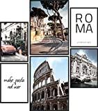 Papierschmiede Poster Set Rom | 6 Bilder als stilvolle