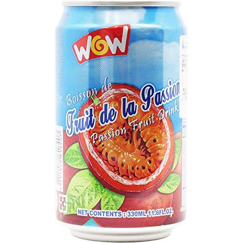 Wow 百香果汁(パッションフルーツジュース) 330ml ×24本
