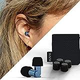 Flare Audio® - Isolate® MiNi Denim Blue Ear Protection Earplugs