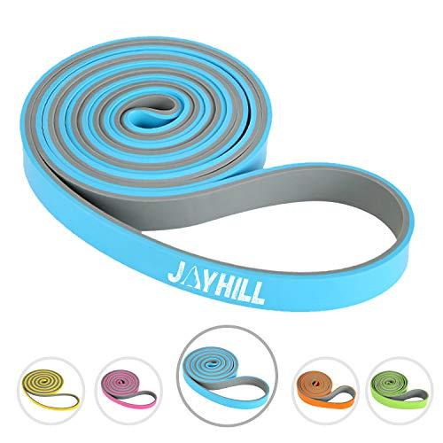 JOYHILL Fitnessbänd, Klimmzugband Widerstandsbänder für Terra Band, Muskelaufbau und Crossfit Freeletics Calisthenics (MITTEL(25-50Lb))