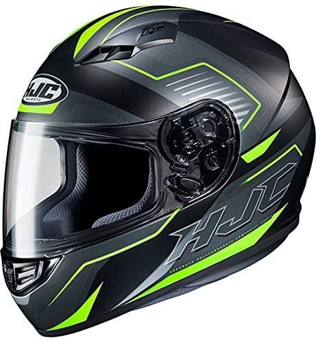 Casco moto HJC CS 15 TRION MC3HSF, Nero/Grigio/Giallo, M