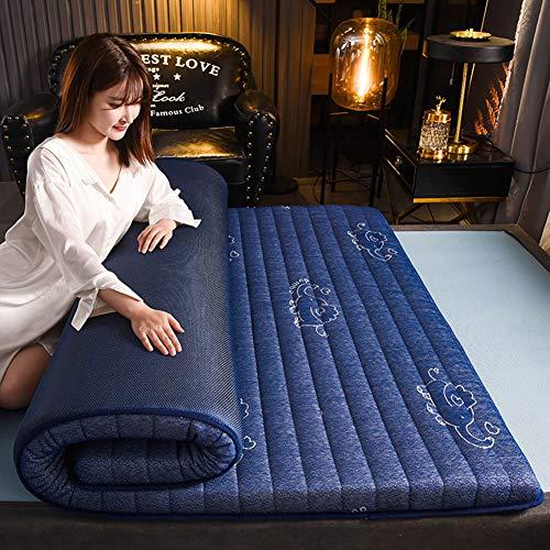 WSJIANP Tatami Futón,Algodón Compuesto Respirable Colchón De Tatami,Dormitorio Estudiantil Plegable Colchón Futón Tatami,Futón Japonés D 180x200cm(71x79inch)
