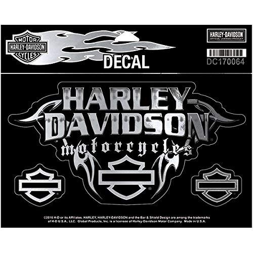 Harley-Davidson Aufkleber Chrome Thorns