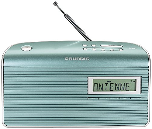 Grundig Music 7000 DAB+ Radio, mint/silber