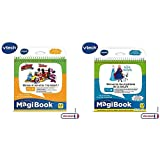 VTech - MagiBook - Le Travail en équipe avec Mickey et Ses Amis ! & Livre MagiBook - La Reine des Neiges - Découvre Les mystères de la Nature, Livre éducatif