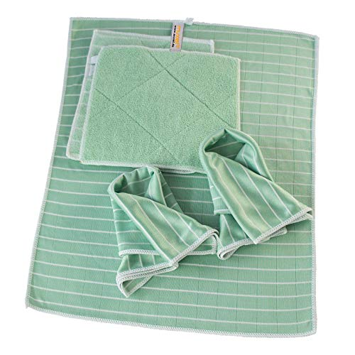 Muxel´s Reinigung Bambus Tuch Set Putzlappen