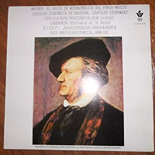 Wagner (Die Walküre : The Ring - Wotan's Farewell / Lohengrin) & Bizet (Aragonesa / Habanera) Supravox C5036 Vinyl
