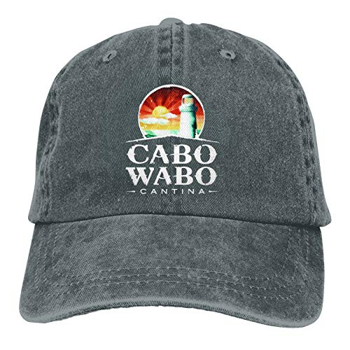 Baseball Caps, Original Exclusive Classic Cabo Wabo Hat with Button and Sweatband Adjustable Tie Hats for Women Men
