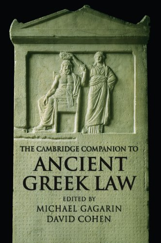 The Cambridge Companion to Ancient Greek Law (Cambridge Companions to the Ancient World)