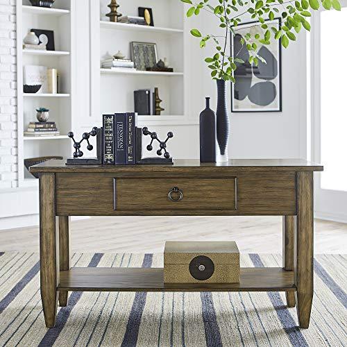 Liberty Furniture Industries Verona Valley Sofa Table, Brown