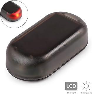 TiooDre Solar Falso de Seguridad del Sistema Universal de Coche llev¨ la luz de Advertencia