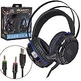 2. Headset gamer Bass Vibration KP-417 7.1 Sound Effect